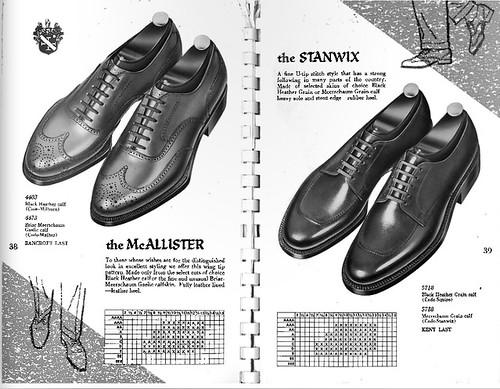 Allen Edmonds 1958 catalog - McAllister & Stanwix