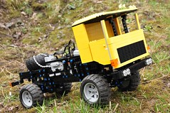 Trial Truck: DAC 16.550-1 (Sergiu94) Tags: road truck power lego offroad 4x4 roman engine 4wd off technic dac portal functions rc trial motorized v10 axle axles 16550 offroadvehicles trialtruck