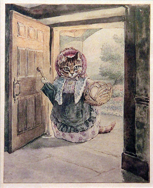 Beatrix Potter's drawing - reproduction