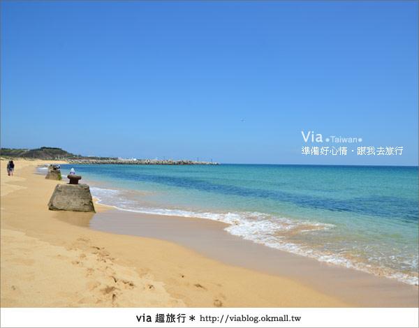 【澎湖沙灘】山水沙灘,遇到菊島的夢幻海灘!19