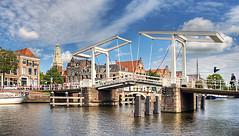 Bridge (Jan Kranendonk) Tags: bridge holland haarlem canal europe brug ophaalbrug