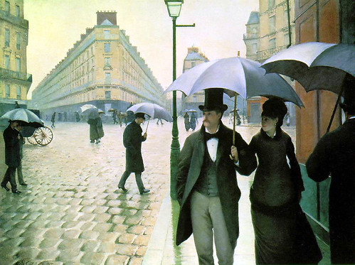 G Caillebotte Paris Rainy Day