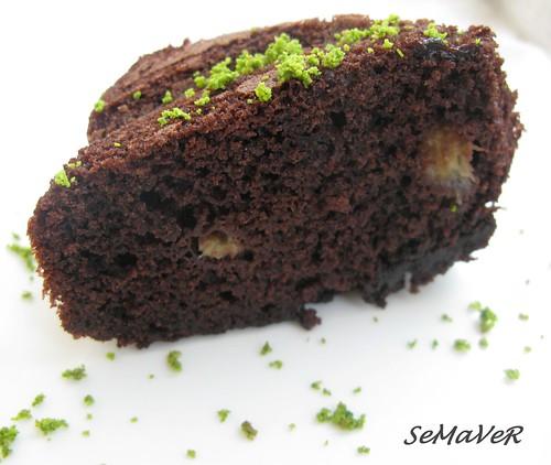 cikolatali muzlu kek
