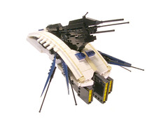 Righteous Indeavor01 (Legohaulic) Tags: lego space communication frigate righteous microspace indeavor