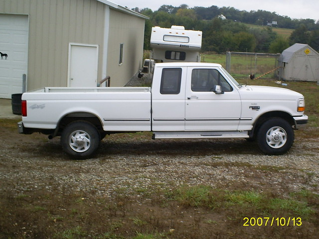 ford power 4x4 diesel 1996 stroke xlt f250 73l