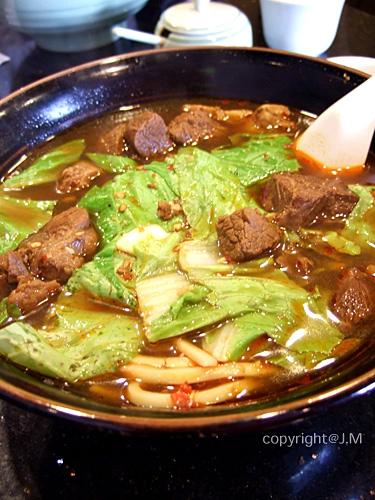 牛肉麵 (Beef Stew w/ noodles)
