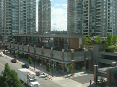 A new urban streetscape emerges in Burnaby (Vancouver City Planning Commission) Tags: vancouver burnaby urbandevelopment parkingpodium