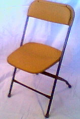 Folding Chair-Gold