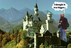 Neuschwanstein (twm1340) Tags: castle photoshop bavaria palace etc lame sick neuschwanstein ludwig wagner twisted fussen hohenschwangau demented