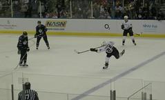 NHL Kings v Ducks - Pronger Slapshot