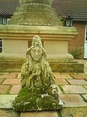 Vajrasattva in the Padmaloka stupa courtyard 2