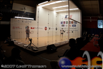 Racquetball Photo: 2007 US OPEN: Stadium Court