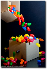 Box (Spilling the beans) (NavindaK) Tags: motion color colour canon beans dynamic box competition jelly jellybeans entries photo5 submissions top20productpix canonef100mmf28macrousm