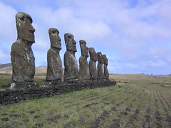 Easter Island (Phillie Casablanca) Tags: chile travel southamerica statues adventure moai easterisland rapanui isladepascua adventuretravel roundtheworldtrip