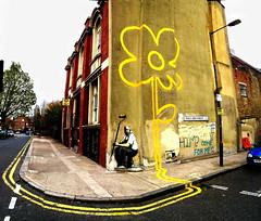 Pollard st. Banksy (_Kriebel_) Tags: london tower banksy hackney londonstreets pollard hamlets kriebel londonist towerhamlets