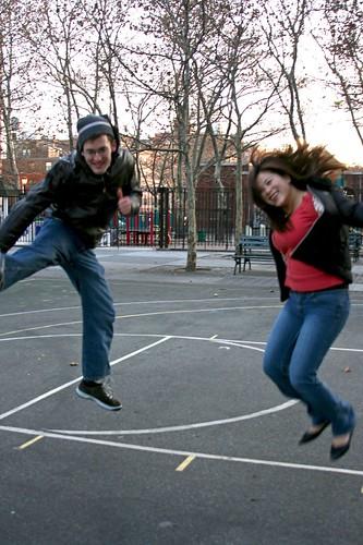 Ariel & Helen's jumpin'