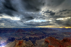 Sunrise at the Grand Canyon (HDR) por Sciamano
