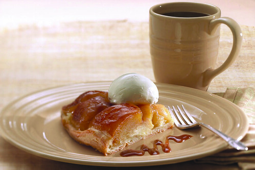 Caramel Apple Tarte Tatin