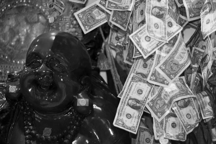 Buddha has bling