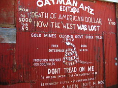 The end of the wild west (Manuel Millway) Tags: arizona abandoned route66 desert mojave wildwest oatman goldmine