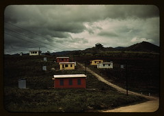 Federal housing project on the outskirts of th...