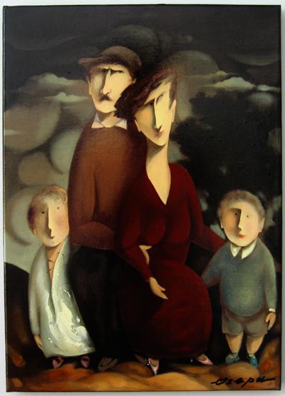 """Complete Family"" by Olegi Osepaishvili (Osepa)"