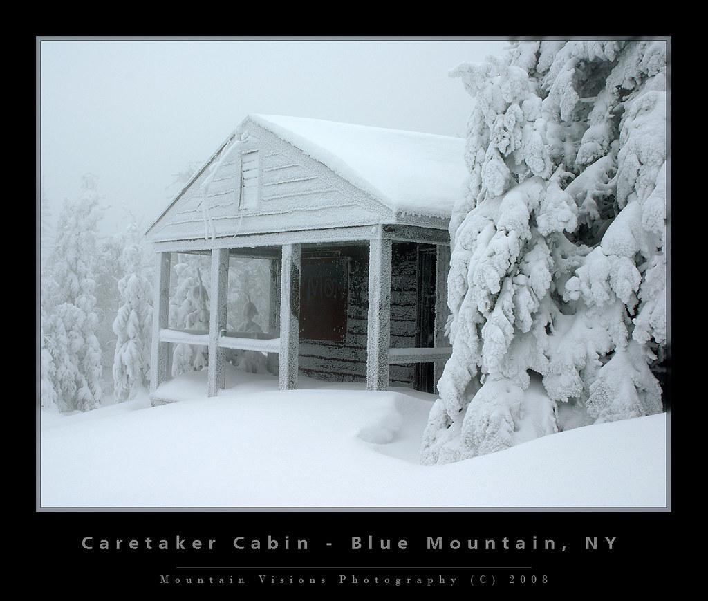 Caretaker Cabin, Blue Mountain, Adirondacks, NY