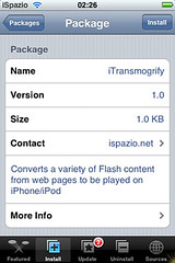 iTransmogrify through iSpazio _ Flash on Safari for iPhone