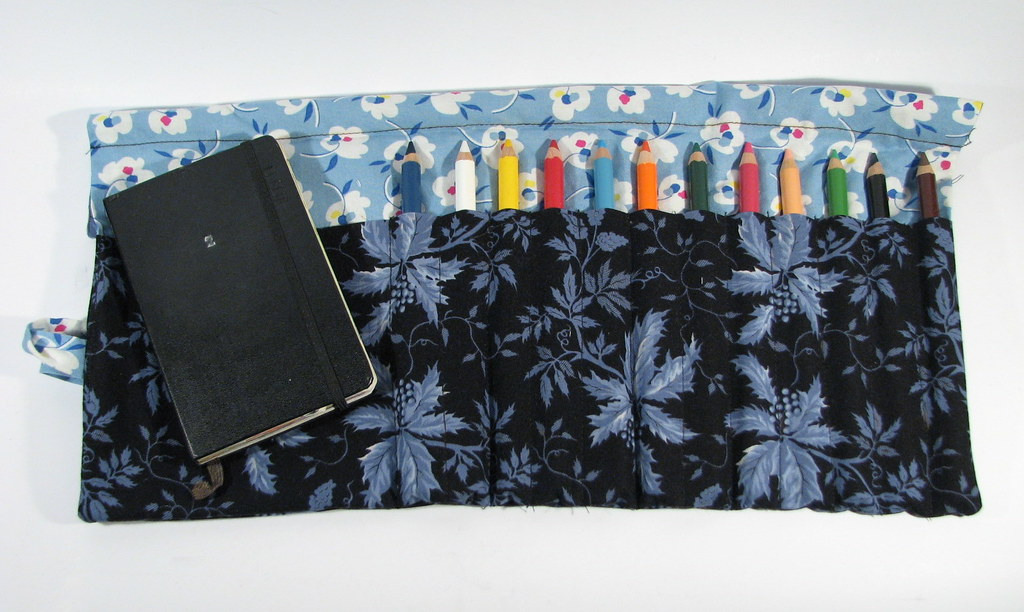 Wrap and Roll Pencil Case