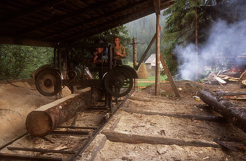small one man sawmills
