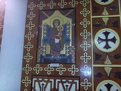 Icon which wept... (maeliza) Tags: mexico icons orthodoxchristian coptic weepingicon copticorthodoxchurch