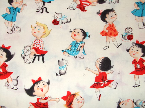 very adorable fabric