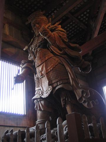 東大寺(大仏殿)-広目天像