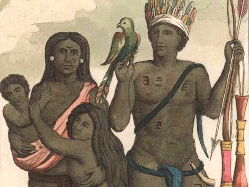 Famiglia Indiana Caraiba