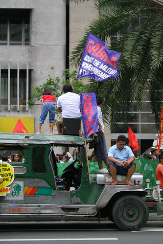 Rally at Ayala Ave.