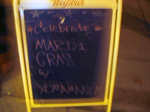 "Mardi Gras in DC, with ""Yomamanen"""