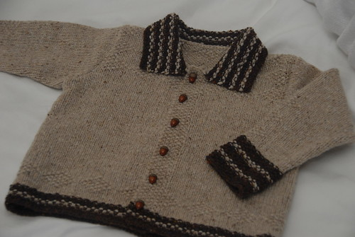 Tweedy Diamond Cardigan