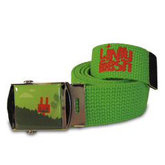 Fantastic Rabbit Canvas Belt