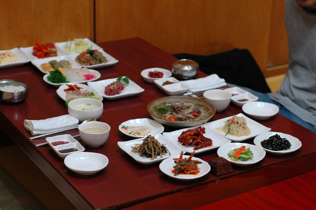 Korean food: 20 dishes (some are not yet on the table)