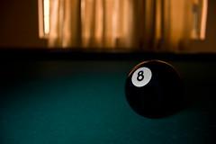 Lust for luck (-Passenger-) Tags: longexposure pool otto luck ocho billiard 8ball billar huit oito numbereight
