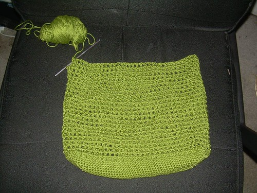 Provence Crocheted Mesh Bag
