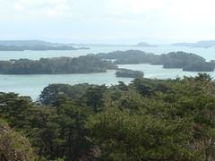 Matsushima Bay from Saigyo Modoshi No Matsu Park (fourcornersofjapan) Tags: goat matsushima fourcornersofjapan