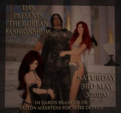 gorean fashion show