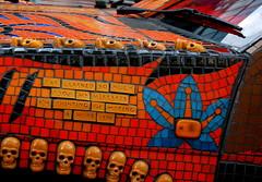 Tiled (kchbrown) Tags: london car digital skulls colorful tiles lond nikond40