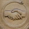 clasped hands and snake (Leo Reynolds) Tags: squaredcircle hand snake serpent ouroboros uroborus canon eos 40d 0003sec f67 iso400 300mm 0ev sqrandom sqset028 xleol30x hpexif xratio1x1x xsquarex xx2008xx