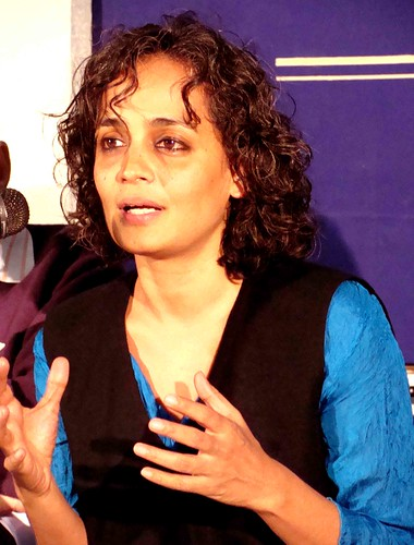 Photo Essay – Arundhati Roy Sightings