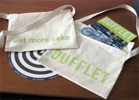 Tour de Dufflet muzette bags