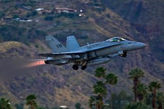 F-18 Departing PSP