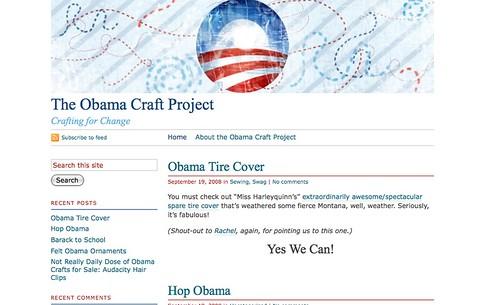 Obama Craft Project!