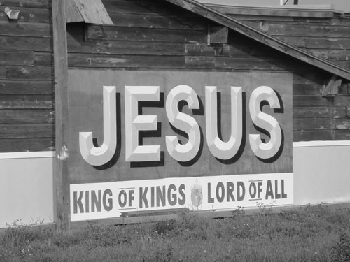 Jesus - King of Kings.